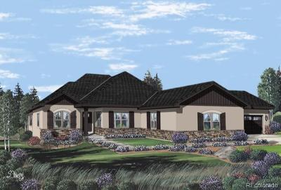 Castle Pines, Castle Rock, Larkspur Single Family Home Active: 7655 Kryptonite Lane