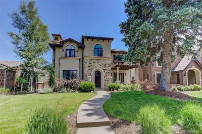 Denver Single Family Home Under Contract: 1170 South Saint Paul Street