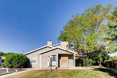 Arvada Condo/Townhouse Under Contract: 8466 Everett Way #D