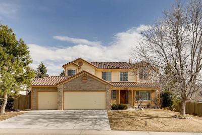 Castle Rock Single Family Home Active: 4966 Buena Vista Boulevard