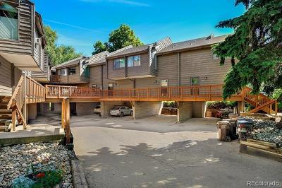 Boulder County Condo/Townhouse Active: 827 Maxwell Avenue #L