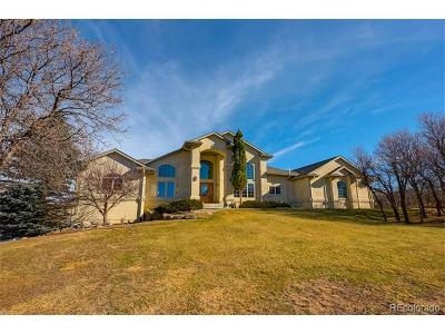 Castle Rock Single Family Home Active: 2520 Lowall Court