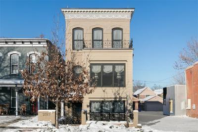 Denver Single Family Home Active: 2217 Clarkson Street