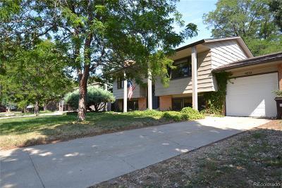 Boulder Single Family Home Active: 4210 Evans Drive