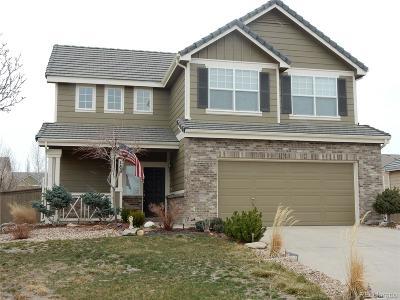 Castle Rock Single Family Home Under Contract: 180 Ellendale Street
