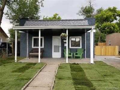 Denver CO Single Family Home Active: $289,000