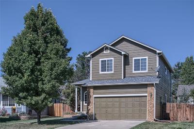 Castle Rock Single Family Home Under Contract: 5305 East Kensington Avenue