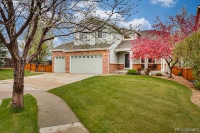 Broomfield Single Family Home Active: 14393 Jared Court