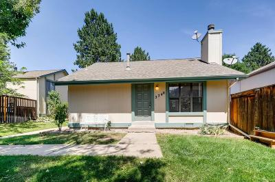 Aurora, Denver Single Family Home Active: 3740 South Danube Circle