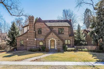 Denver Single Family Home Active: 5130 East 17th Avenue Parkway