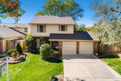 Centennial CO Single Family Home Active: $545,000