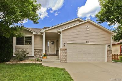 Longmont Single Family Home Active: 2401 Skysail Court