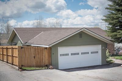 Steamboat Springs CO Single Family Home Under Contract: $499,000