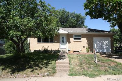 Northglenn Single Family Home Active: 11607 Fowler Drive