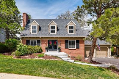 Centennial Single Family Home Under Contract: 6451 East Irish Place