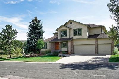 Littleton CO Single Family Home Under Contract: $739,500