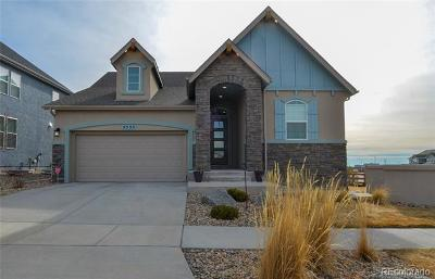 Colorado Springs Single Family Home Active: 5555 Wolf Village Drive