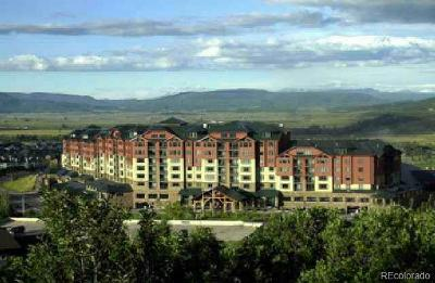 Steamboat Springs Condo/Townhouse Active: 2300 Mount Werner Circle #357 QII