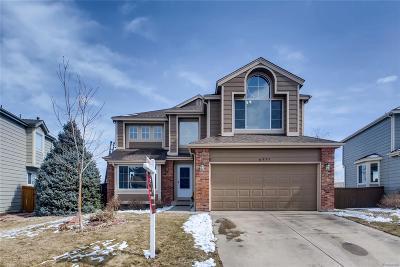 Highlands Ranch Single Family Home Under Contract: 6997 Mountain Brush Circle