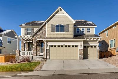 Castle Rock Single Family Home Active: 3112 Starry Night Loop