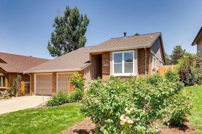 Centennial CO Single Family Home Under Contract: $479,900