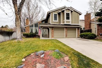 Littleton Single Family Home Active: 2481 West Kettle Avenue