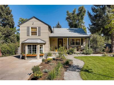 Denver Single Family Home Under Contract: 645 Martindale Drive