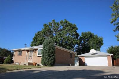 Thornton Single Family Home Active: 7963 Sherman Way