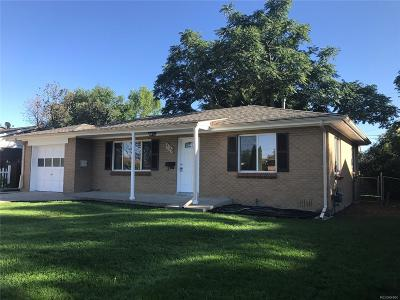 Arvada Single Family Home Active: 6120 West 61st Avenue