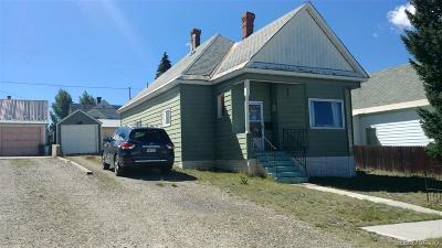 Leadville Single Family Home Under Contract: 417 West 8th Street