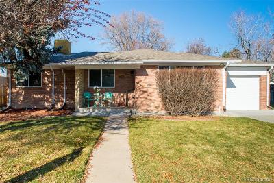 Denver Single Family Home Active: 5005 East Atlantic Place