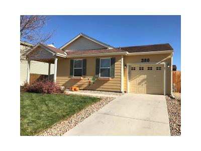 Lochbuie Single Family Home Under Contract: 326 Feather Place