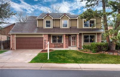 Lone Tree Single Family Home Under Contract: 8055 Sweet Water Road