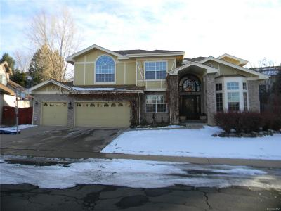 Littleton Single Family Home Under Contract: 10834 West Ontario Place