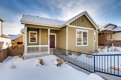 Castle Rock Single Family Home Under Contract: 4322 Fossil Way