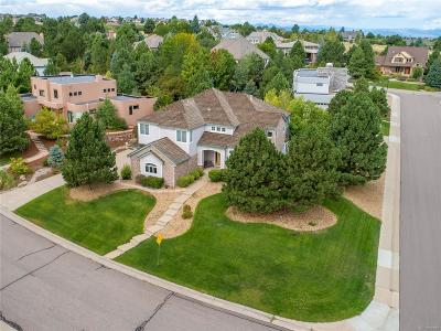 Castle Pines Single Family Home Active: 823 Meadowrose Lane