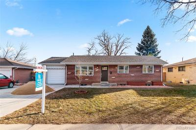 Broomfield Single Family Home Under Contract: 160 Emerald Street