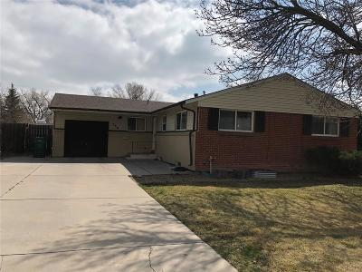 Broomfield Single Family Home Under Contract: 760 Nickel Street