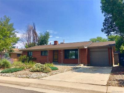 Aurora Single Family Home Under Contract: 3112 Ursula Street