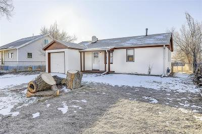 Commerce City Single Family Home Active: 7390 East 82nd Avenue