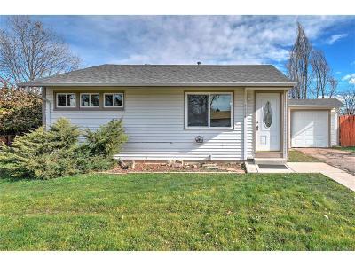 Denver Single Family Home Active: 2636 South Knox Court