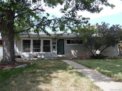 Westminster Single Family Home Active: 8071 Stuart Street