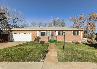 Lakewood Single Family Home Under Contract: 12043 West Virginia Avenue