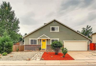 Littleton Single Family Home Active: 6011 South Garland Way