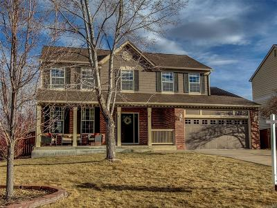 Highlands Ranch Single Family Home Under Contract: 9806 Townsville Circle