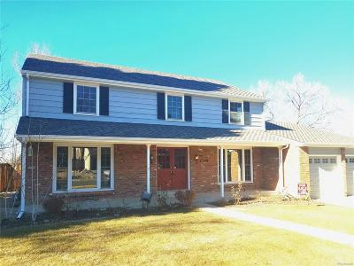 Centennial Single Family Home Under Contract: 7329 South Xanthia Way