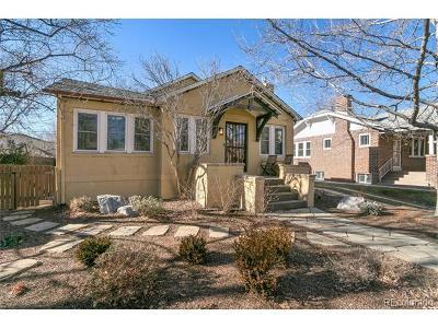 Denver Single Family Home Active: 2255 Glencoe Street