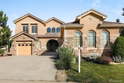 Castle Pines Single Family Home Active: 6047 Vacquero Circle