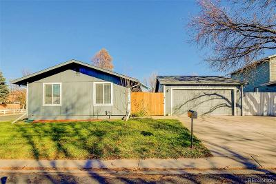 Westminster Single Family Home Active: 6214 West 92nd Place