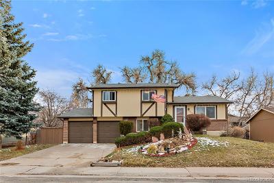 Arvada Single Family Home Under Contract: 6600 West 74th Place